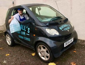 Fish and Chip Delivery Car